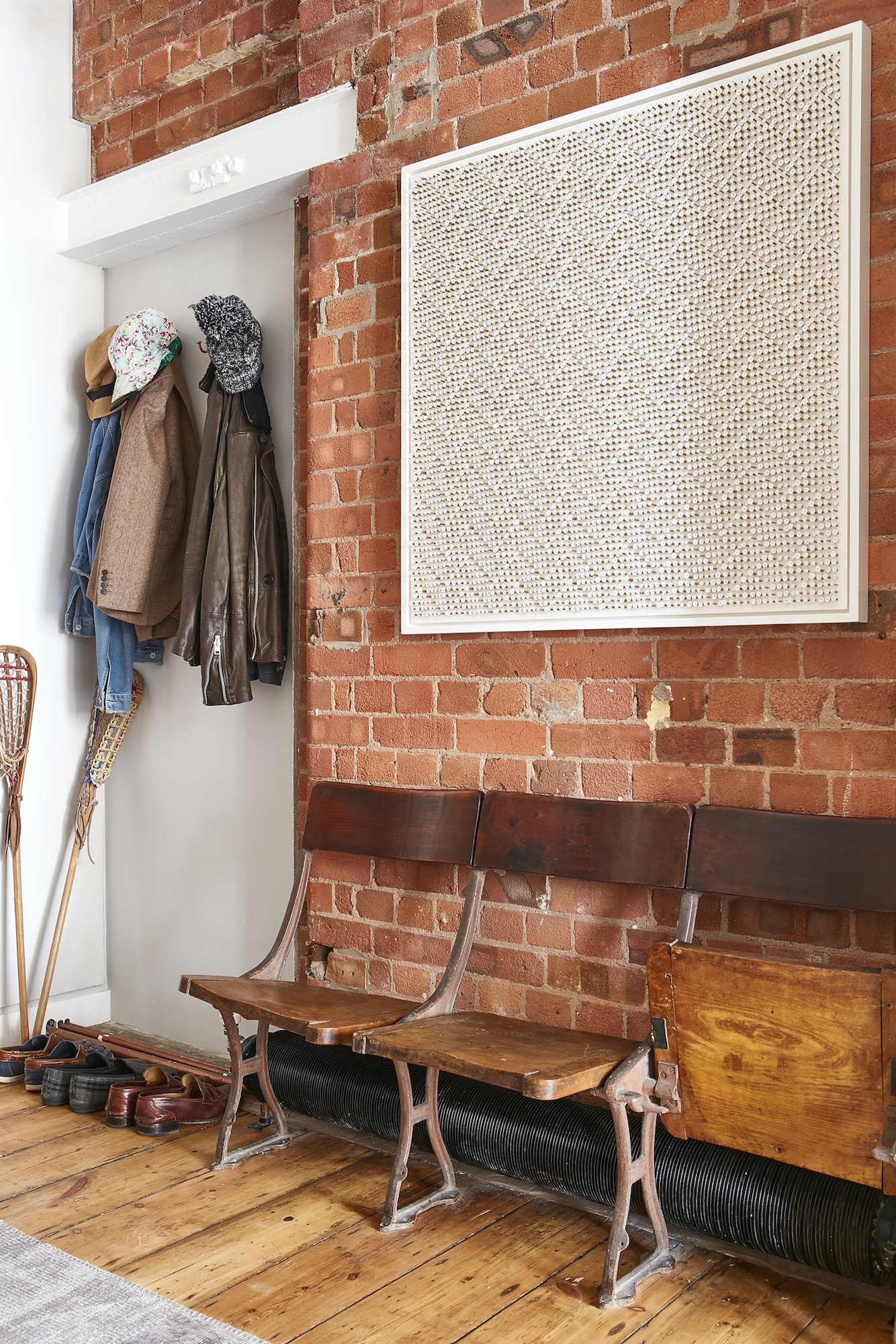 Converted Warehouse | London   Metal on Board      Interior Design: Huxley Home