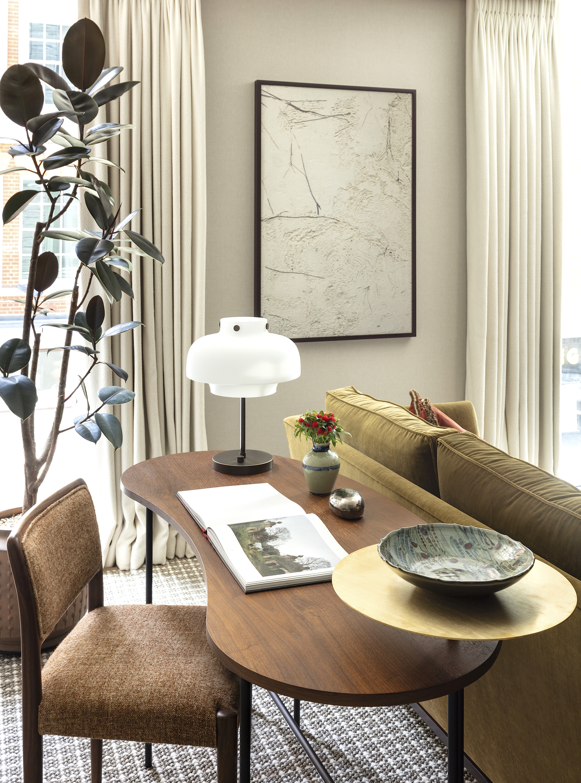 Burlington Gate | London   Reception Study - Photography      Interior Design & Architecture: Hudson & Mercer