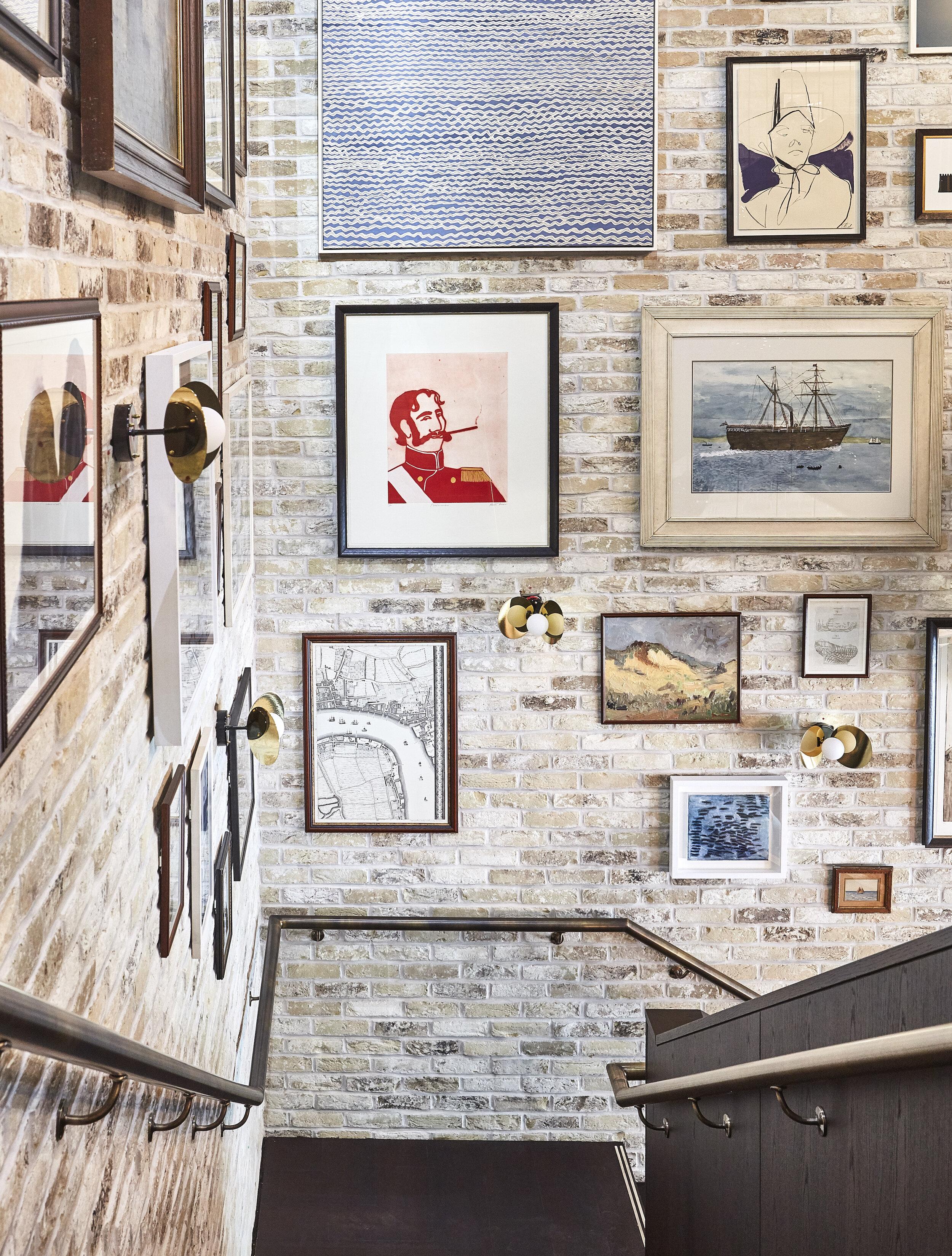 The Hoxton | Southwark   Stairwell - Mixed Media      Interior Design & Architecture: Ennismore