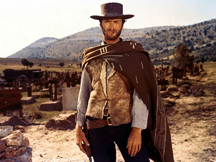 Clint Eastwood: Confident as fuck.