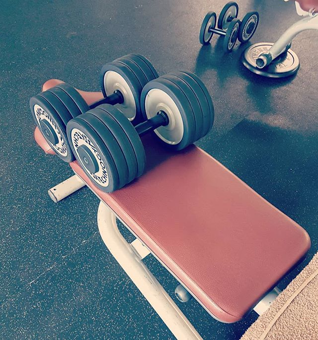 Iron therapy. Sweatin out the demons. . . #gym #fitness #ironparadise #irontherapy