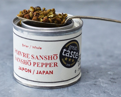 sansho peppercorns