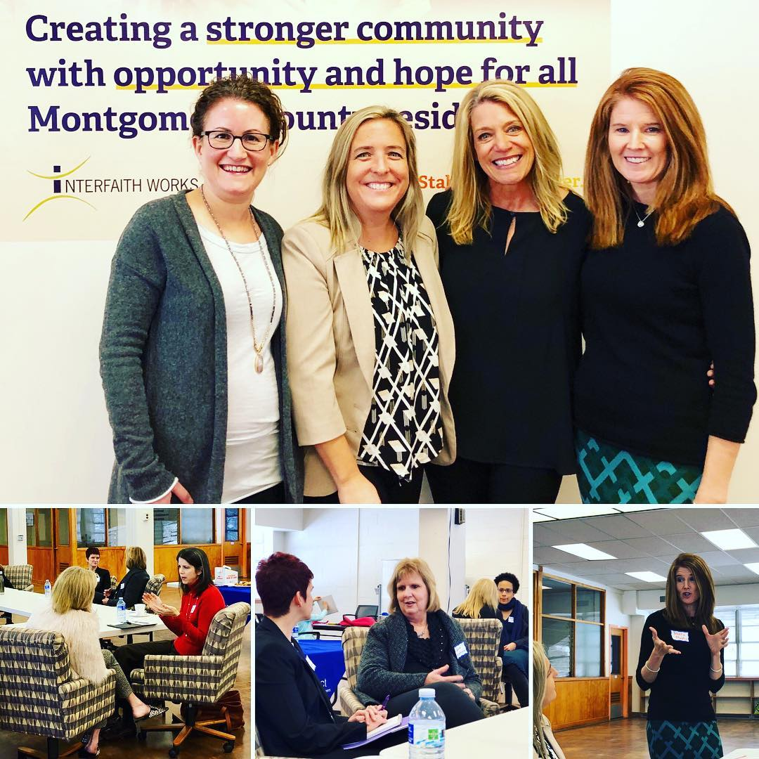 Lots of energy at our workshop with  Flexprofessionals, LLC  on how strategic volunteering can help you reach your personal and professional goals. We strategized at a great place to volunteer,  Interfaith Works  and donated our registration fees.