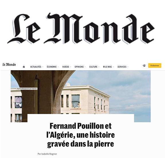 Le Monde July 15th, 2019