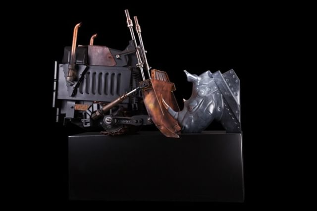 """""""Antagonisme II""""  Pierre Matter  2016  Bronze  Unique  90 x 90 x 64 cm; 35 x 35 x 25.2 inches  View an exclusive collection of sculpture by Pierre Matter online at www.afanyc.com [link in bio] or inquire to info[at]afanyc.com"""