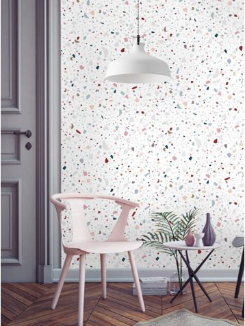 The perfect wallpaper if your planning on embracing the patterned ceiling trend!