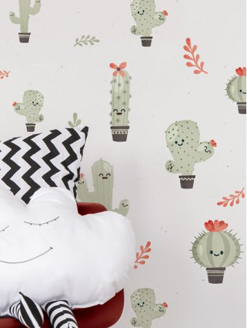 Paper Mint have a range specifically designed for little people. This Cacti print is perfect for a gender neutral bedroom or playroom.