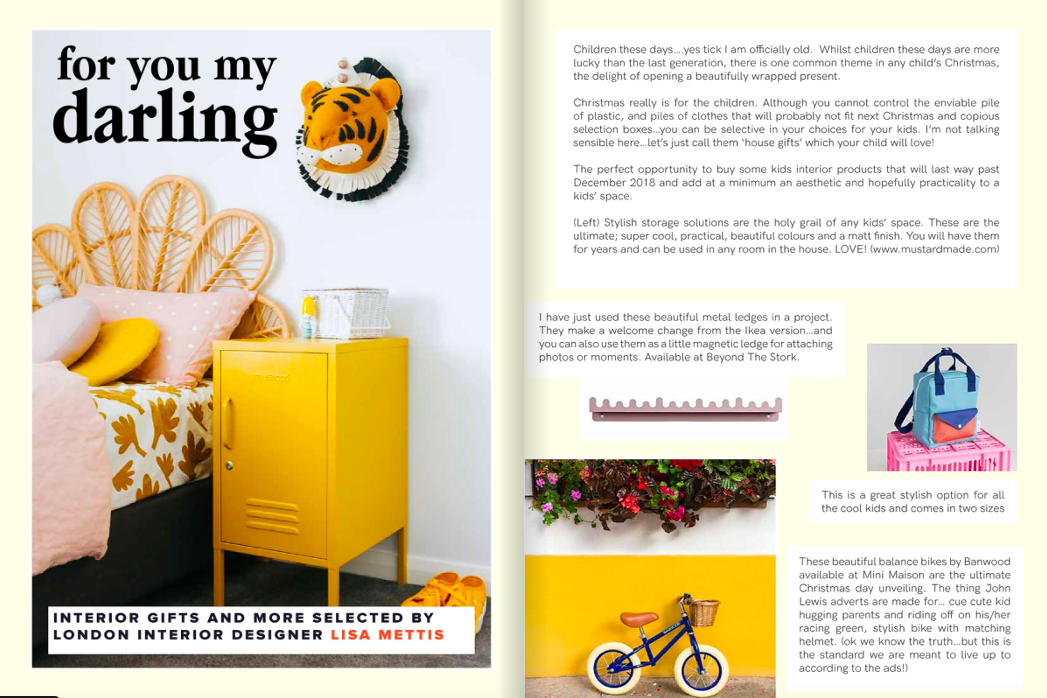 Born and bred studio xmas gift guide for roomy mag