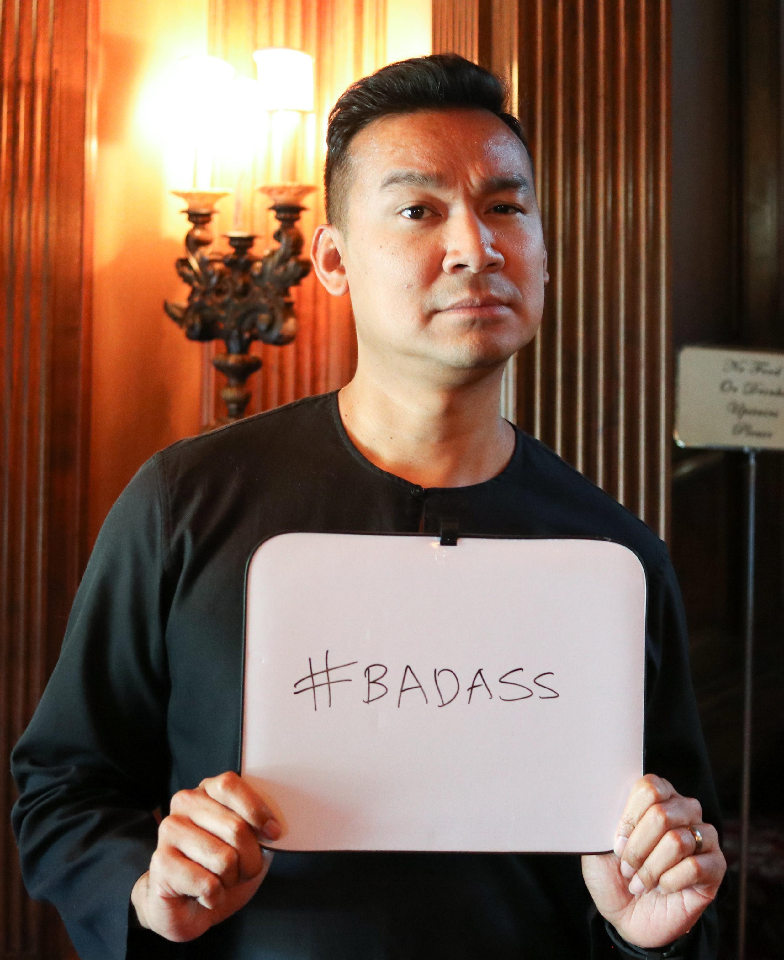 RafiQ is a certified #badass.