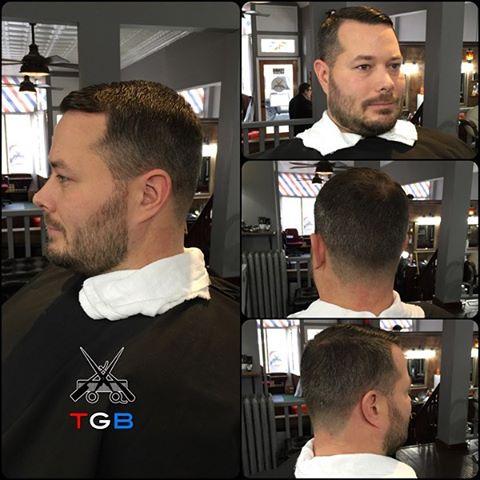 #haircut #hairstyle #barber #barbering #barbershop #fade #taper #disconnect #rochester #roc #barberlife #barberlove #thegentlemensbarber #men #menshairstyle