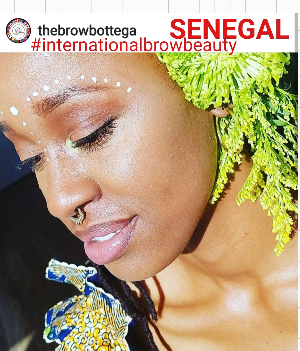 *CLIENT* #internationalbrowbeauty - SENEGAL