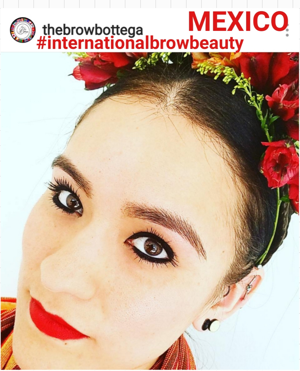 *client* #Internationalbrowbeauty - mexico