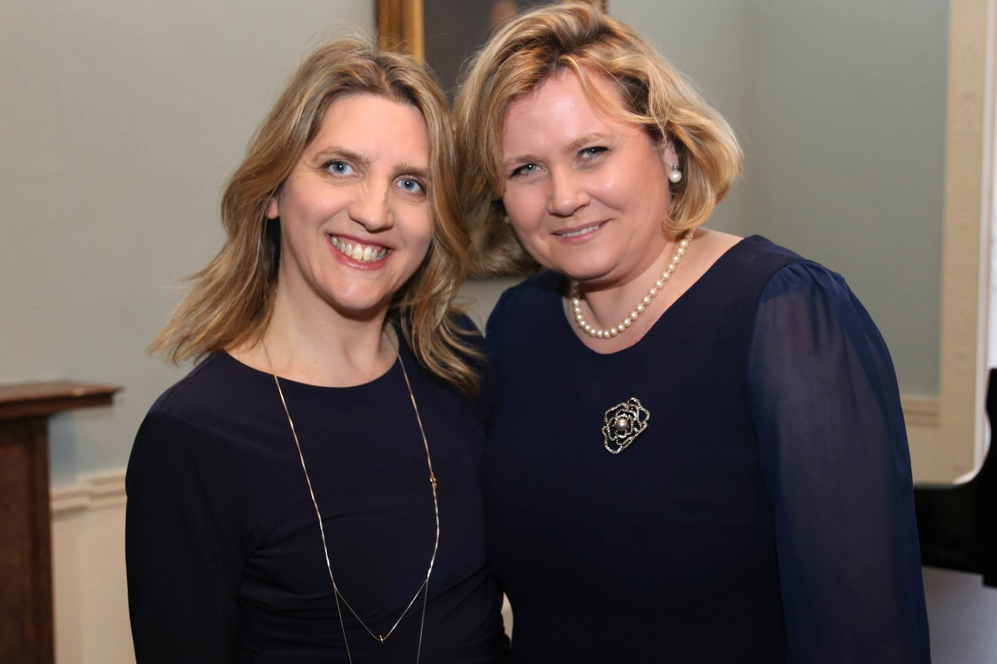 Dearbhla Collins with Imelda Drumm, mezzo-soprano