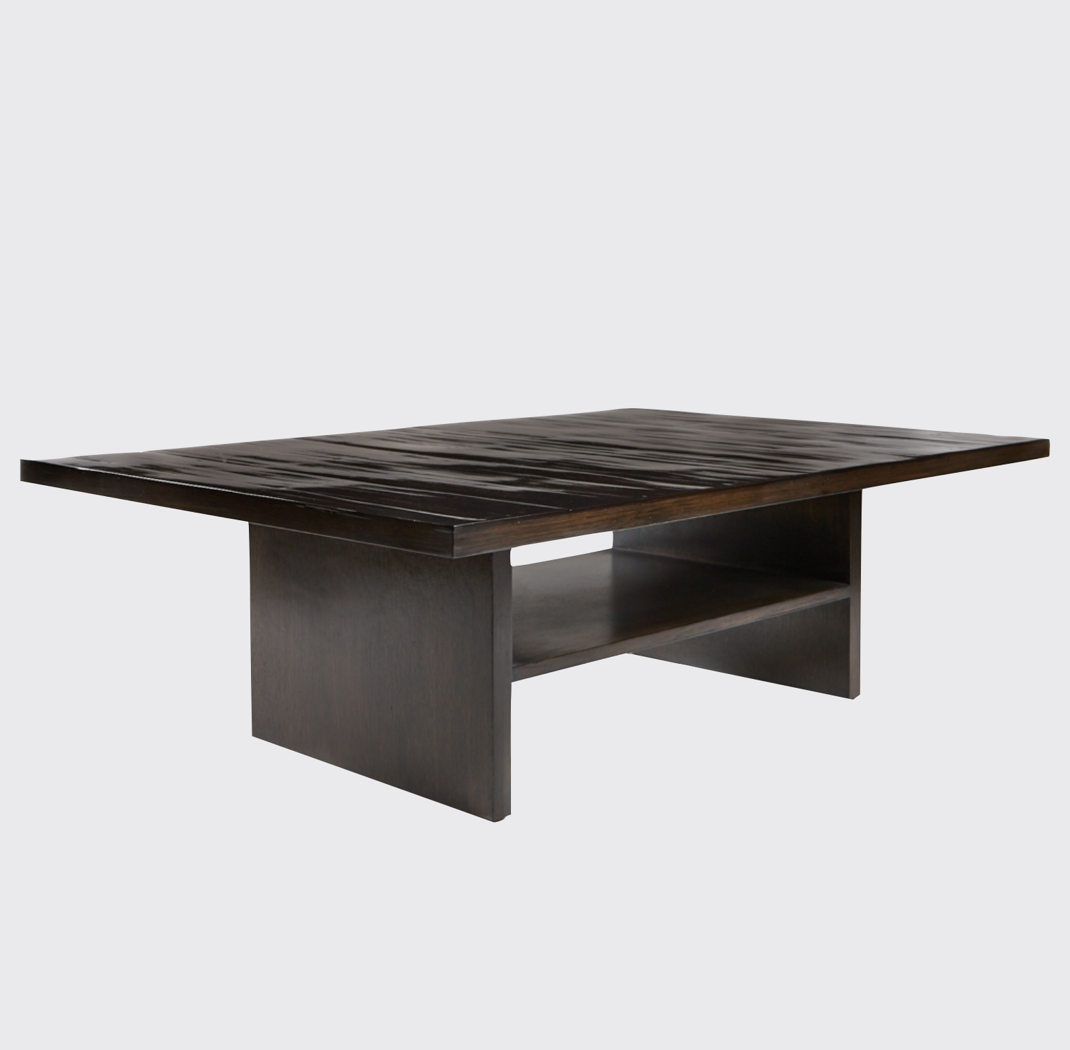 Aguirre Design - Bamboo and Oak Coffee Table