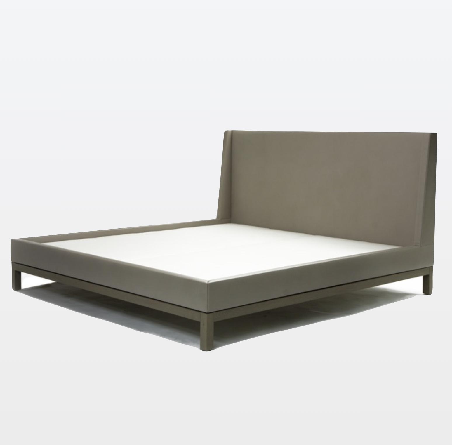 Aguirre Design - Elegant Leather upholstered Bed