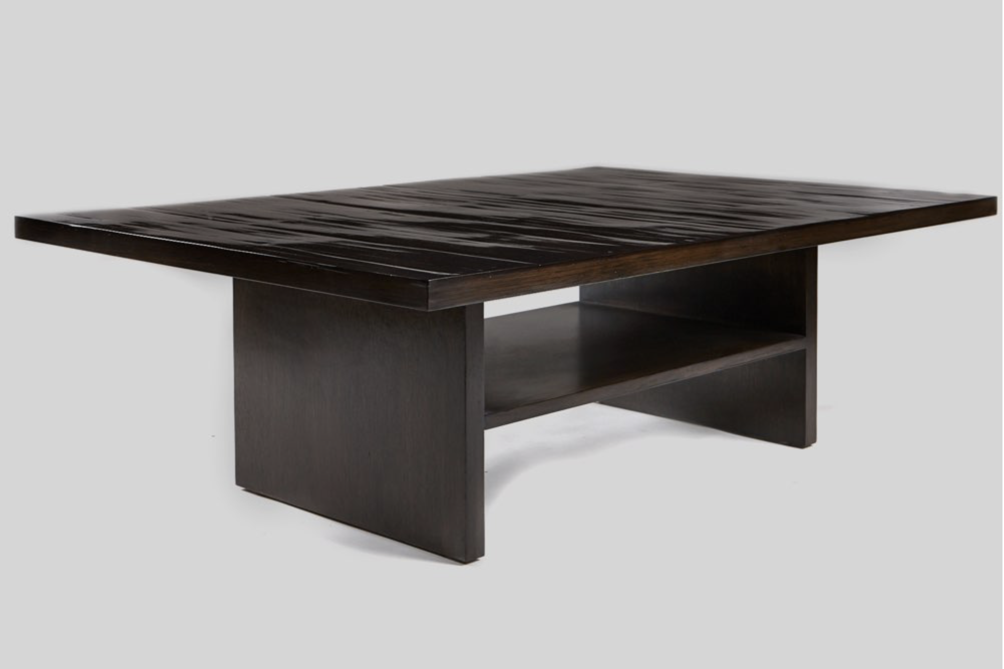 Aguirre Design - Pine Coffee Table - Bamboo and Oak