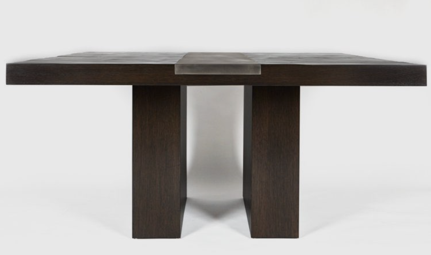 Aguirre Design - Valentine Dining Table - Bamboo and Blackened Steel