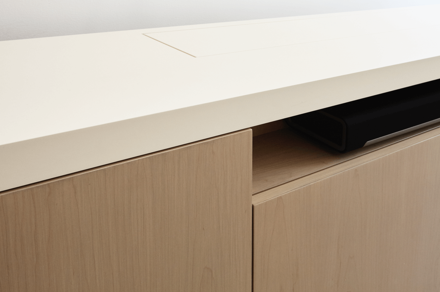 Aguirre Design - Modern and Minimal Oak Desk with Drawers