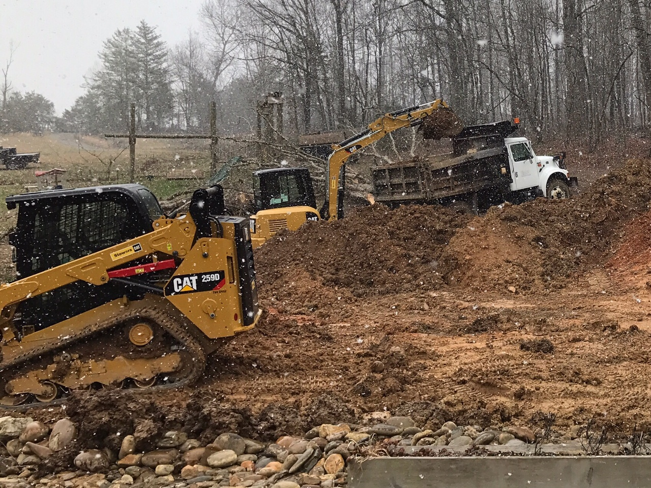 Seal it ASAP — Skidsteer and mini excavator services in Tennessee