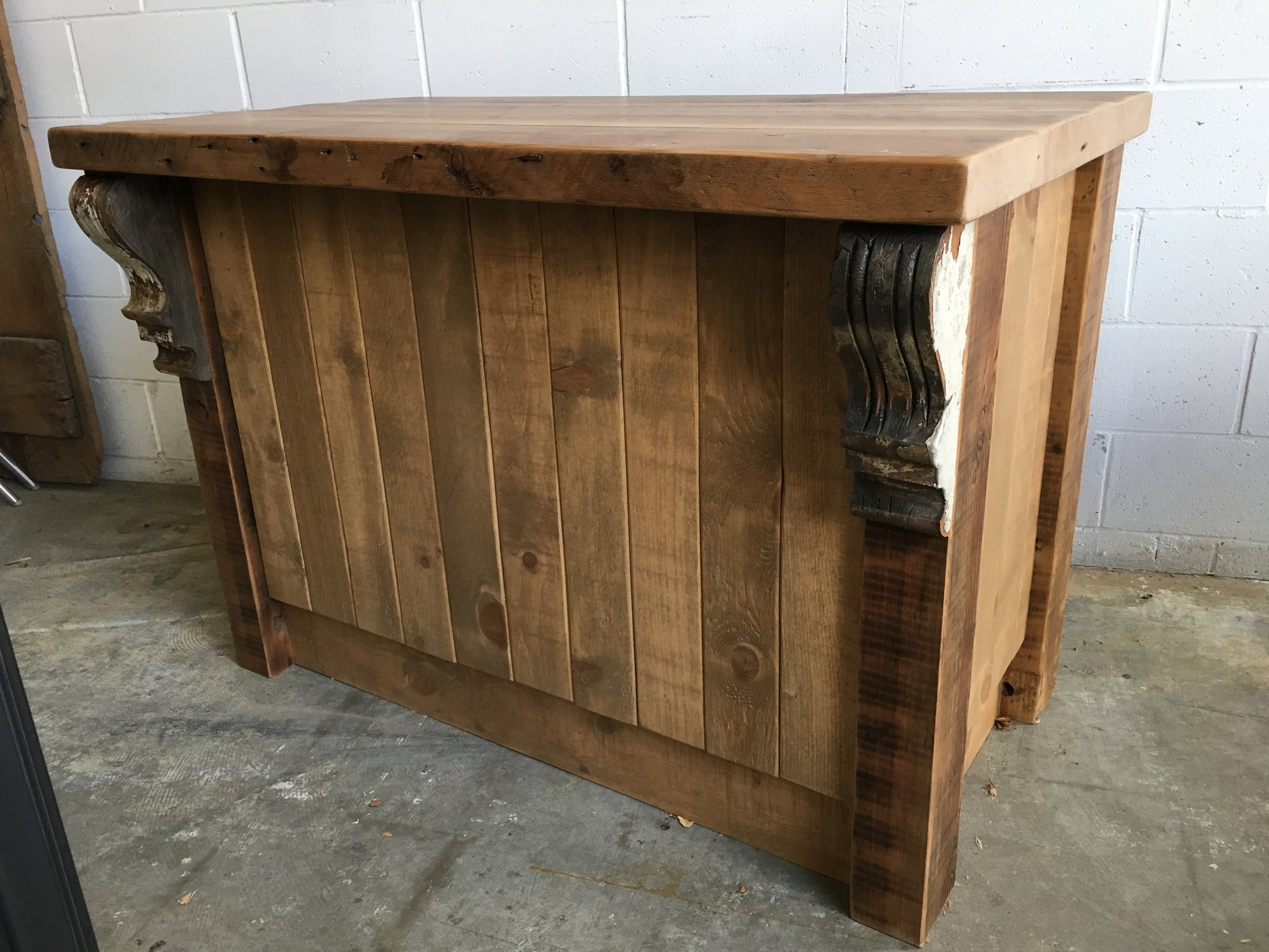Build Construction - Hostess Stand (front)