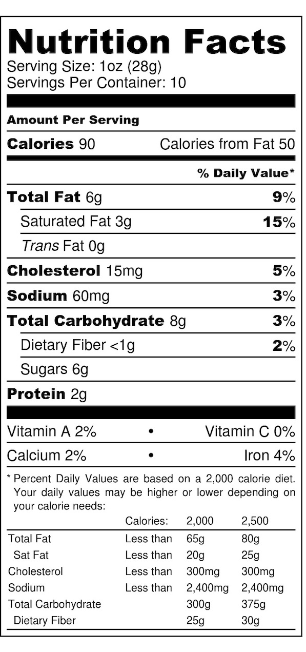 Oh Snap - Nutrition Label.jpg