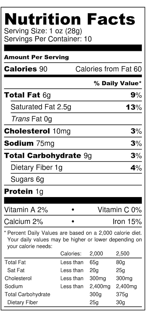 Chocolate - Nutrition Label.jpg