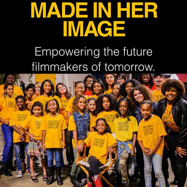 We just discovered @madeinherimageofficial and are officially obsessed! The organization empowers young girls of color and helps them to direct their own stories. They have film camps in Los Angeles and Phoenix this summer, so make sure you enroll! We can not wait to see what these young #womendirectors come up with! ••• #ifshecanseeitshecanbeit #womendirect #femalefilmmakers #diversitymatters #representationmatters #madeinherimage