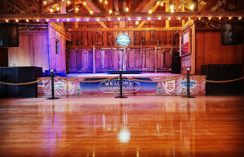 Official Luckenbach Texas General Store Bar Dancehall