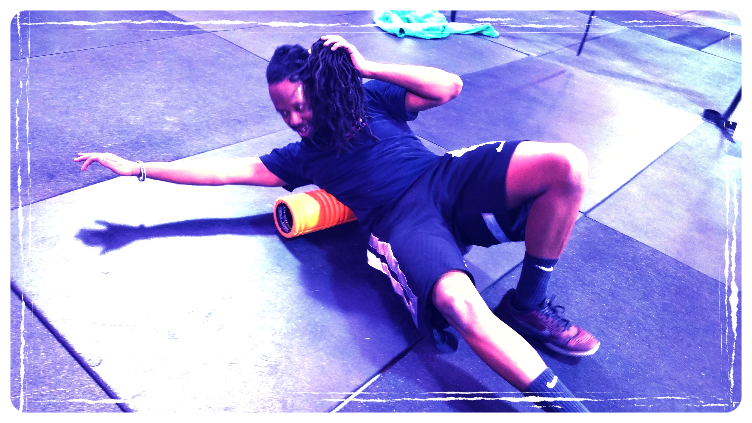 Foam Rolling - The only thing in CrossFit that's truly scary.  The rest is what you make of it.
