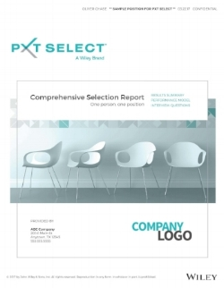 Comprehensive Selection Report_PXT Select