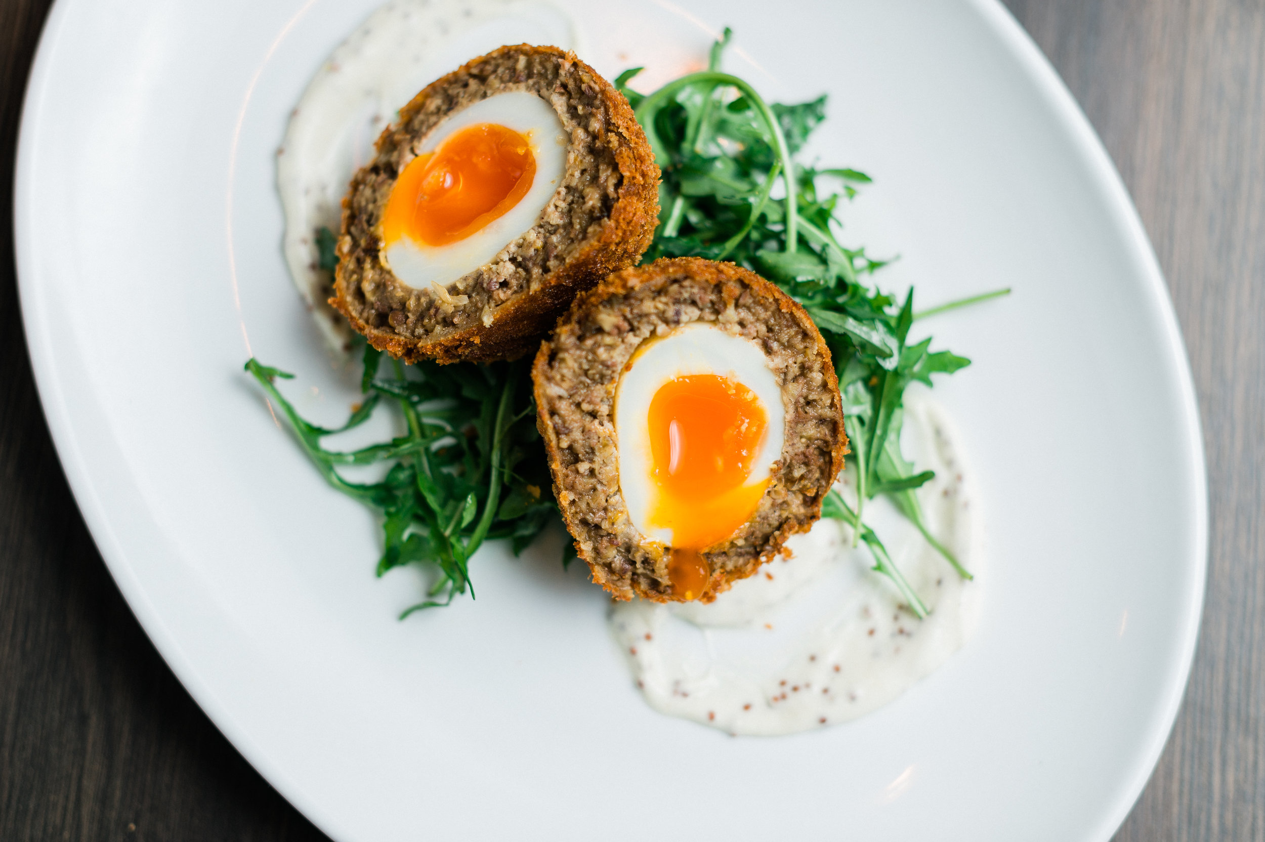 Eggs, Scotch Style