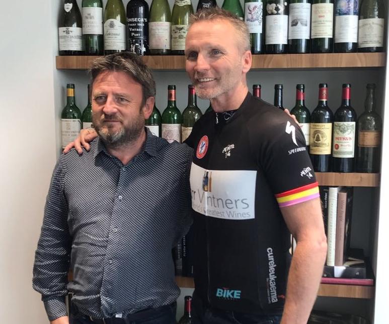 Steve Browett (left) and Geoff Thomas (right)