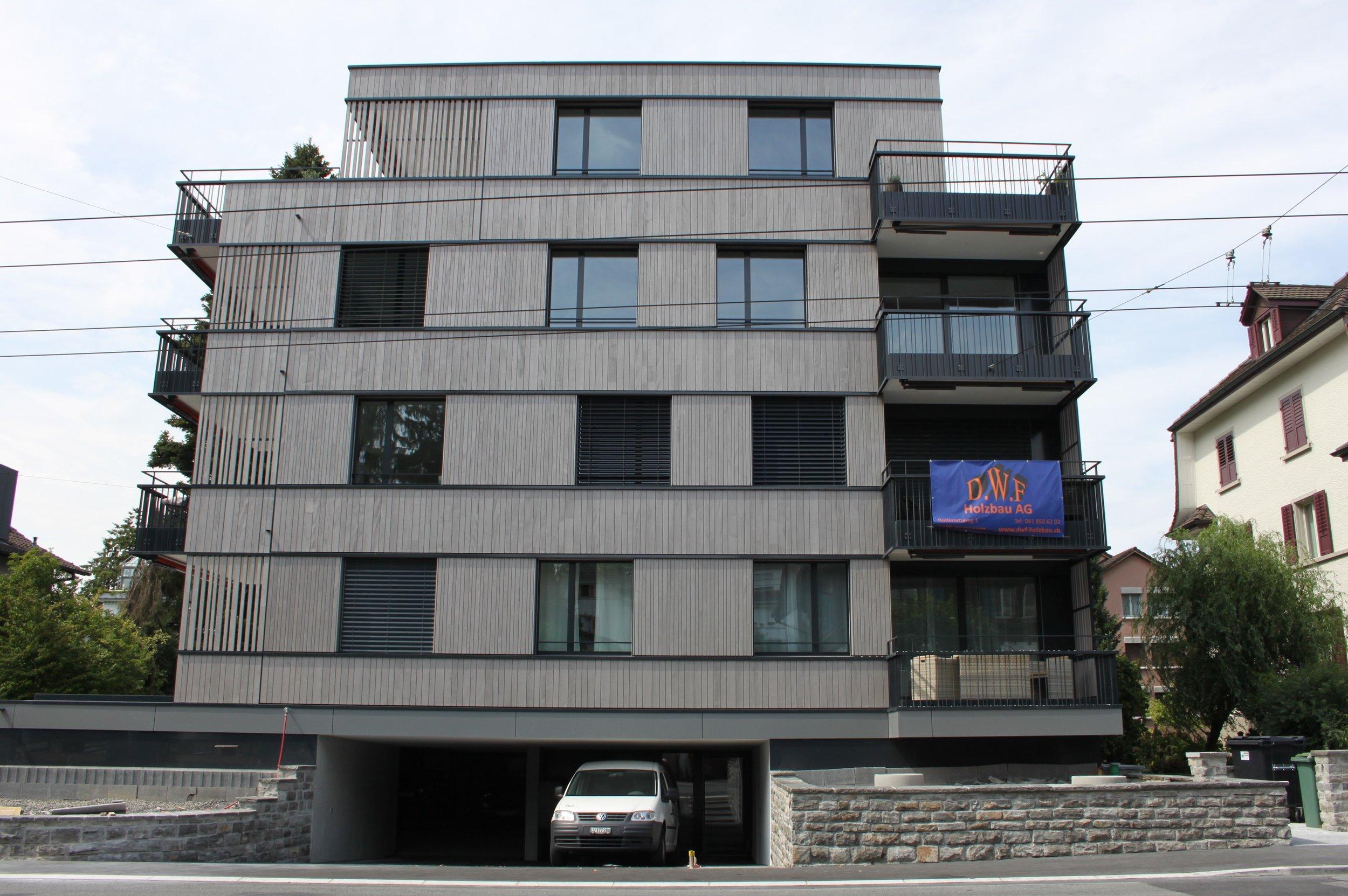 Holzfassade Luzern