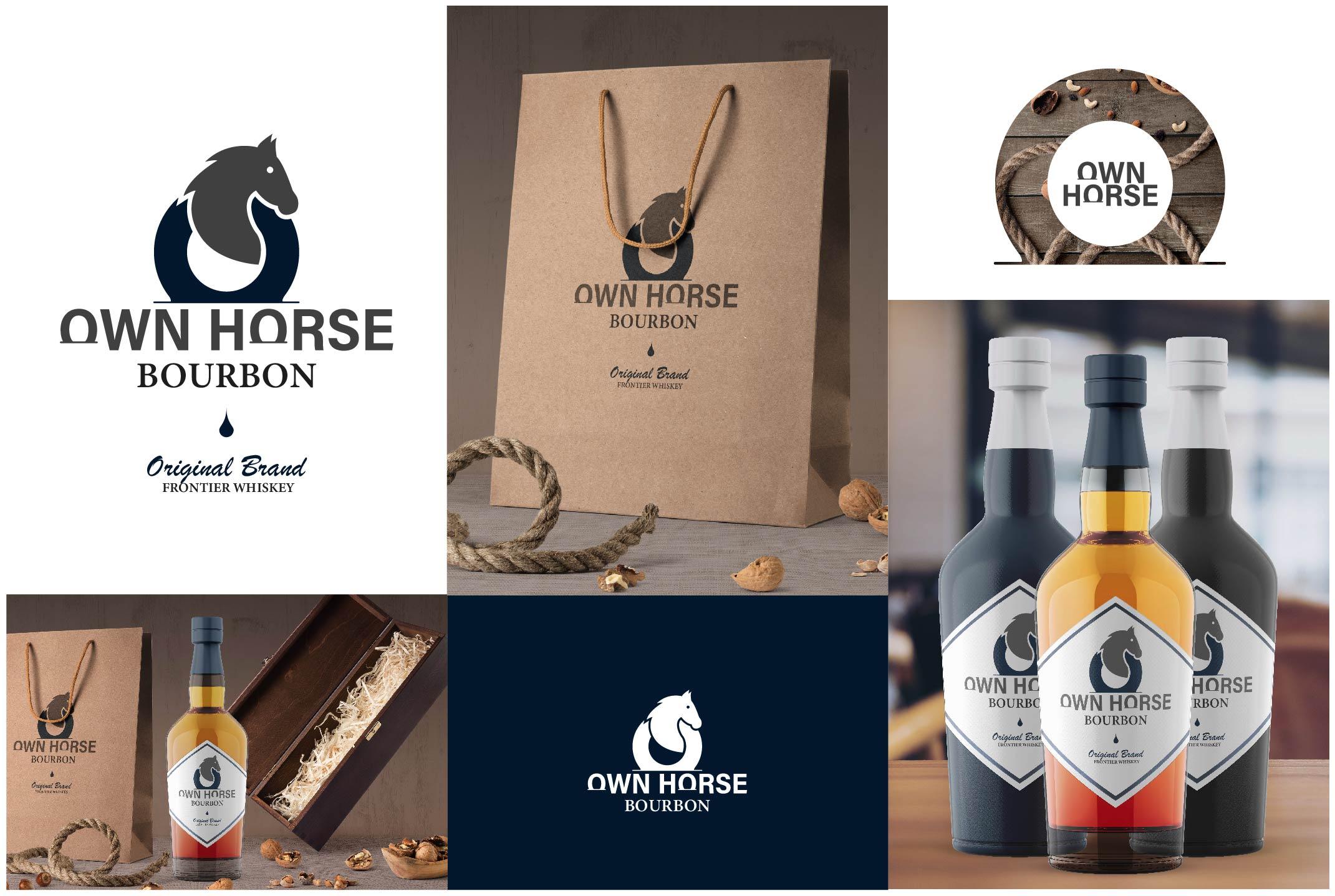 Own Horse Bourbon - Brand Identity