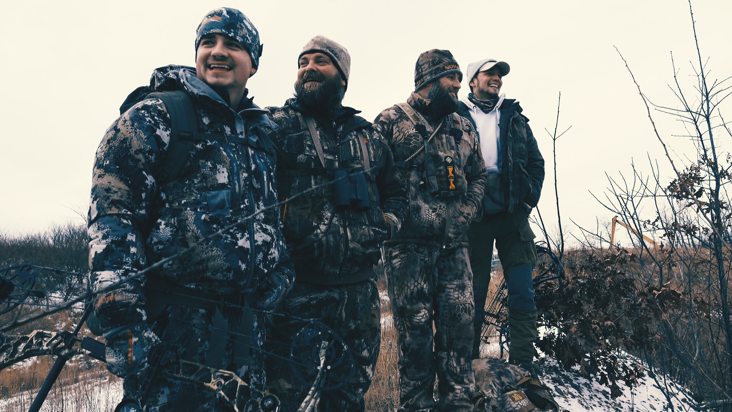 Photo: The Untamed (In Order: Kirk, Josh, Jay, and Trace).