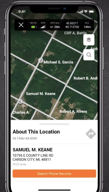 Use HuntWise to Contact Private Landowners