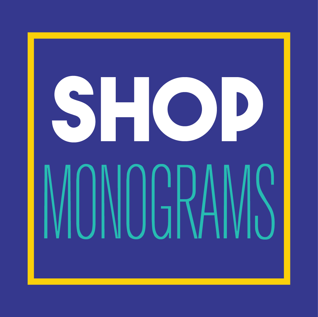 Shop Monograms At Dash of Flair Custom Vinyl Decals
