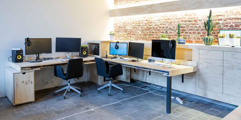 landschap kantoor werkplek roeselare