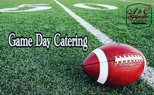 Who's ready for #GameDay?? Get your #catering order in ASAP at @ac_superette! It's sure to be one tasty game! 😋