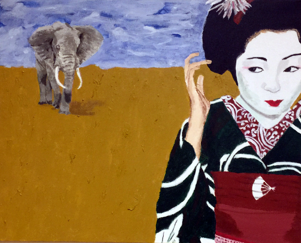 The Maiko and the Elephant