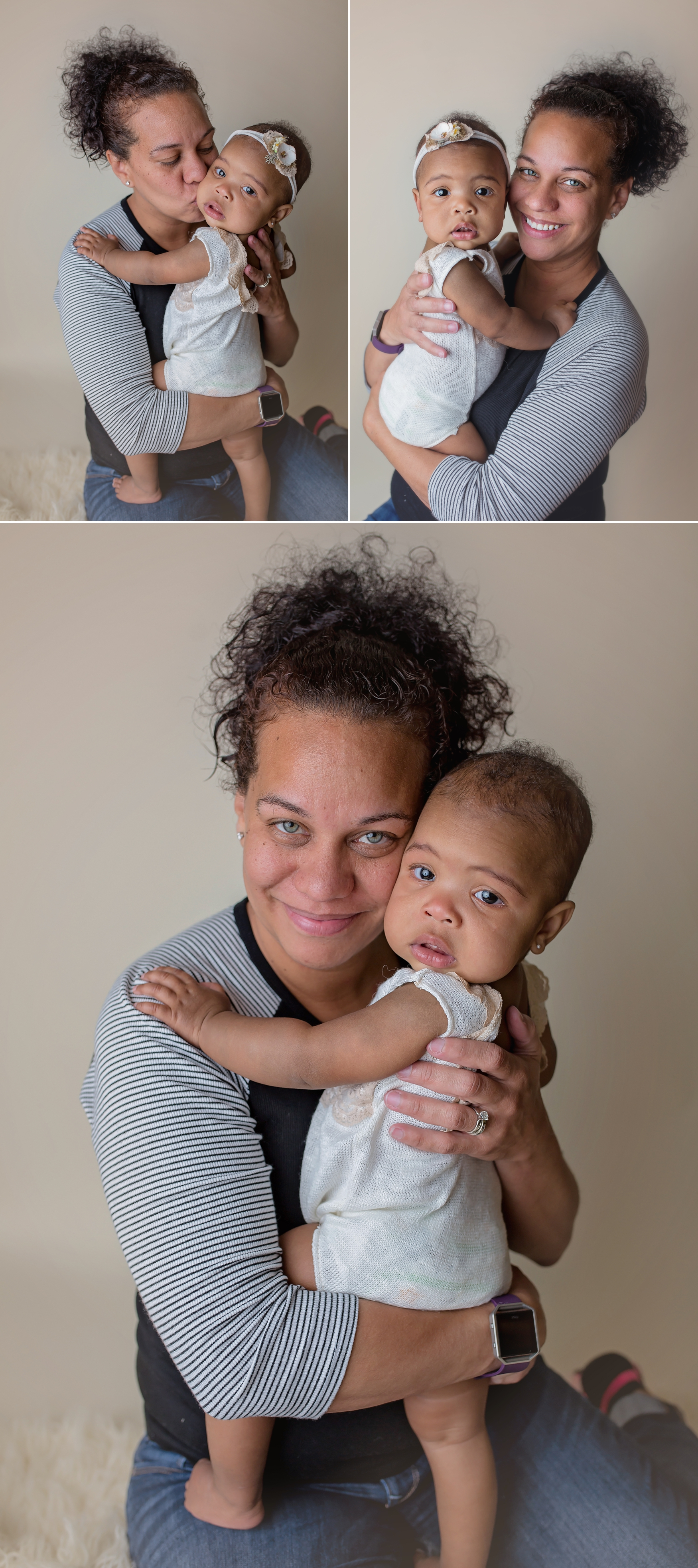Mama-love!   This mama hugging on her sweet baby girl during our photo session!