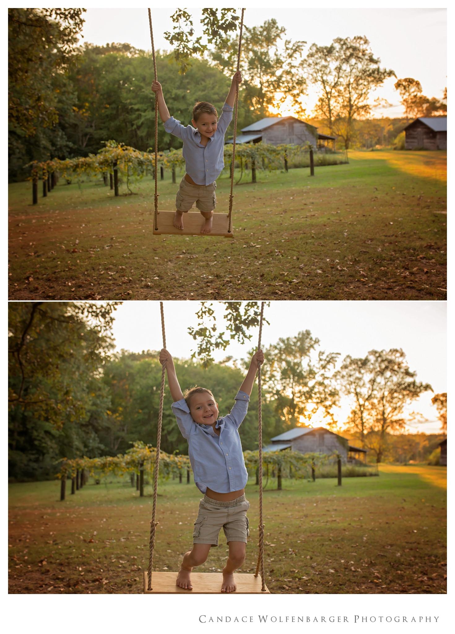 Naaman Caroline Swing Session Candace Wolfenbarger Sanford NC Childrens Photographer 7.jpg
