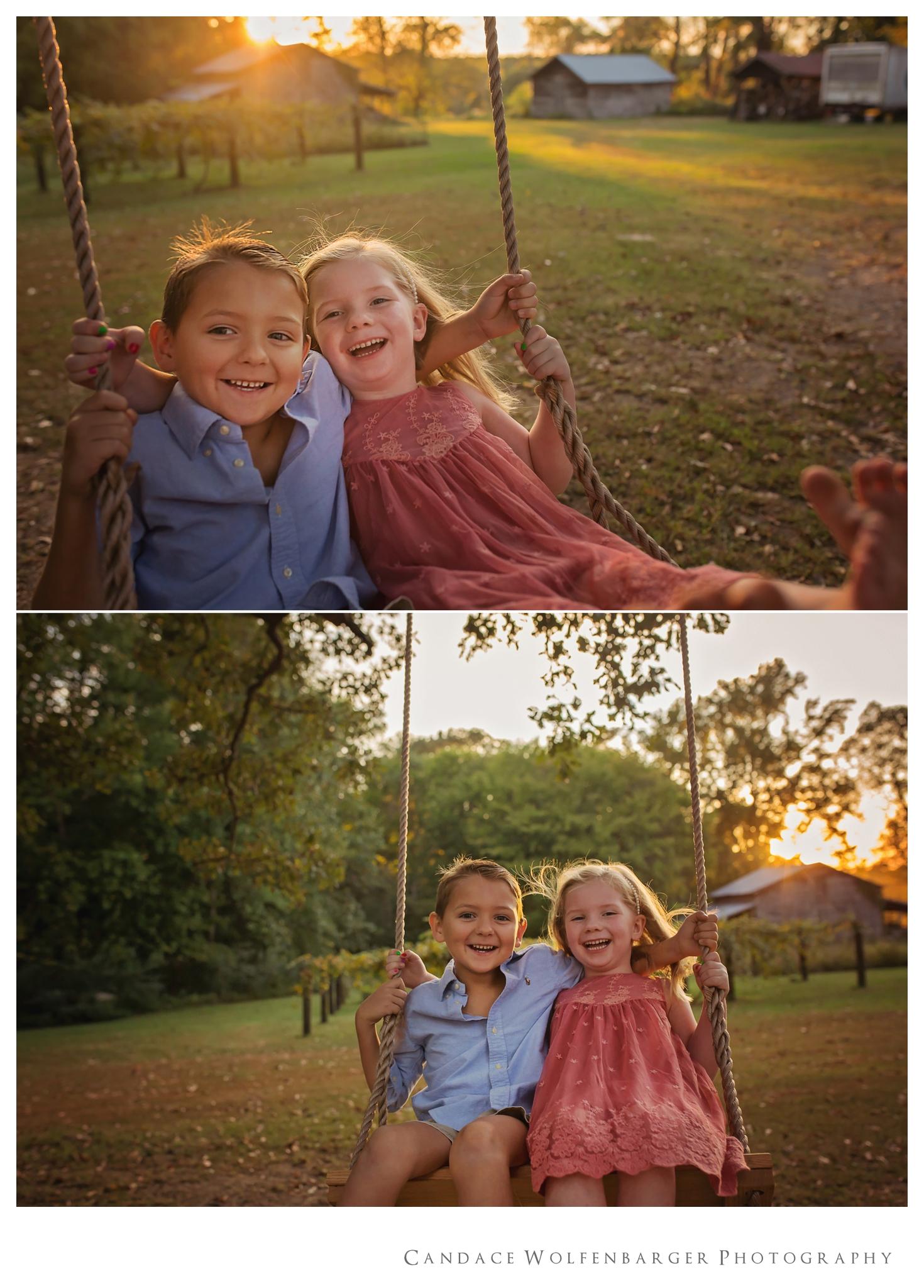 Naaman Caroline Swing Session Candace Wolfenbarger Sanford NC Childrens Photographer 2.jpg