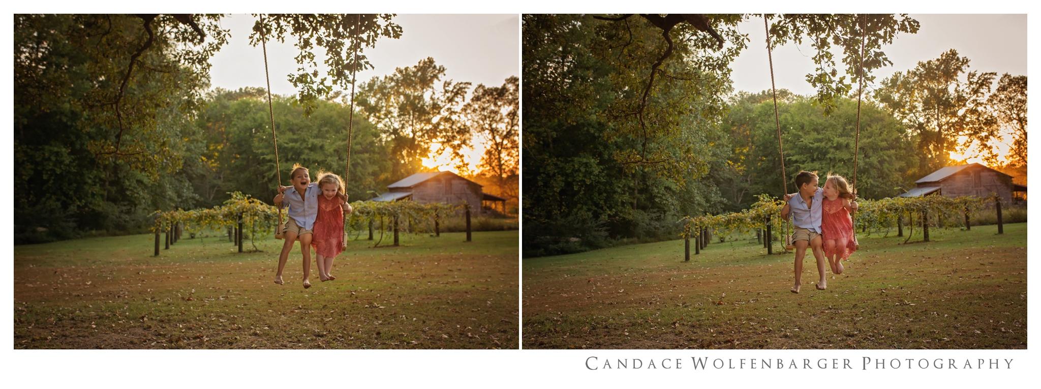 Naaman Caroline Swing Session Candace Wolfenbarger Sanford NC Childrens Photographer 3.jpg