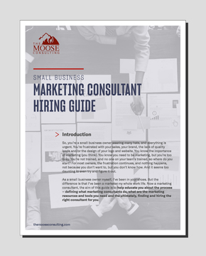 Guide - Hiring a Marketing Consultant