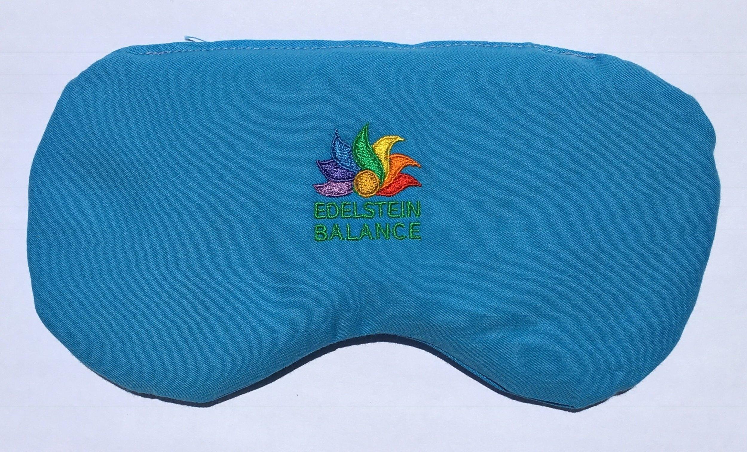 Eye Pillow: Serenity    Gemstones: Blue Quartz, Dumortierite, Magnesite