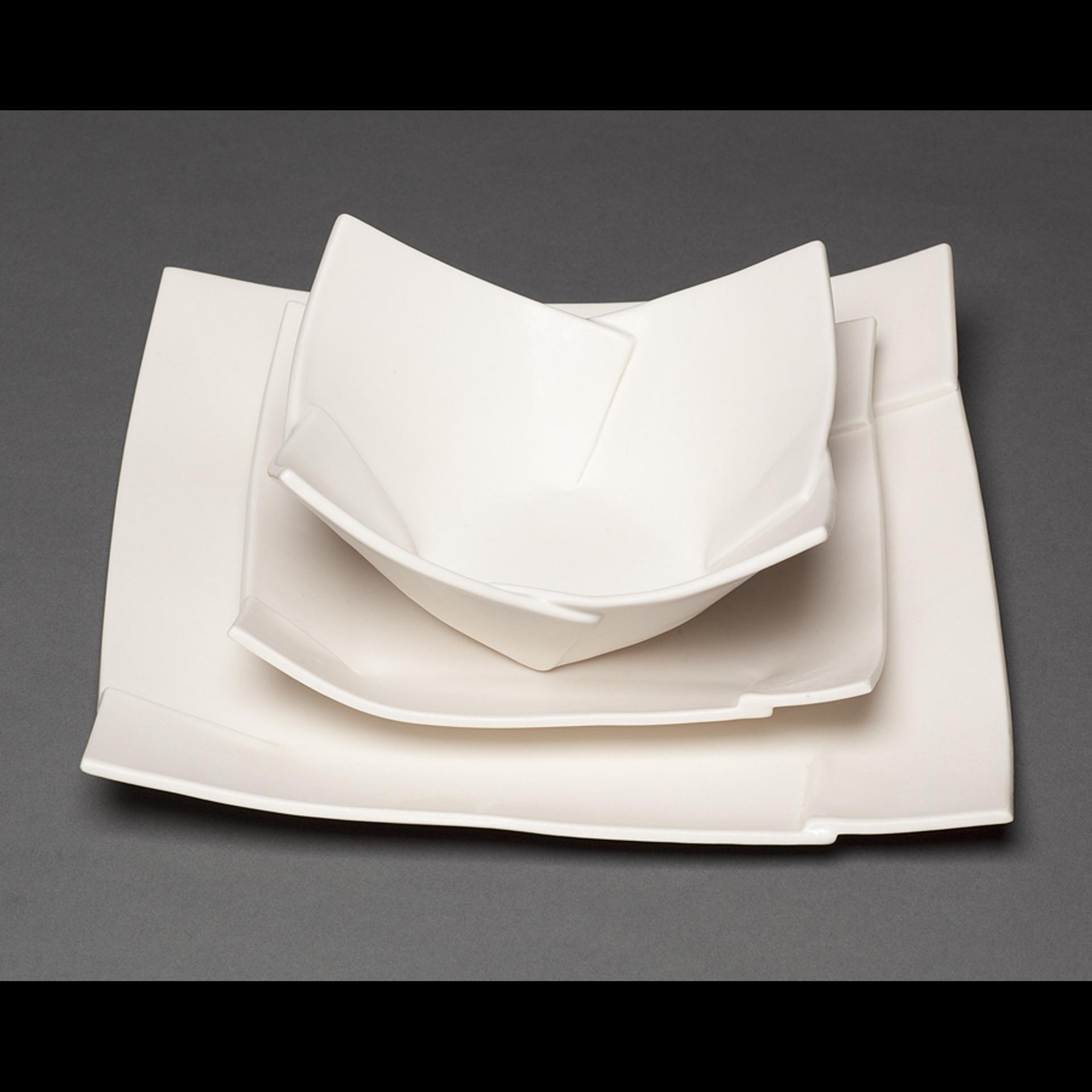 Folded Dinner Service