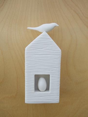 White Egg and Bird