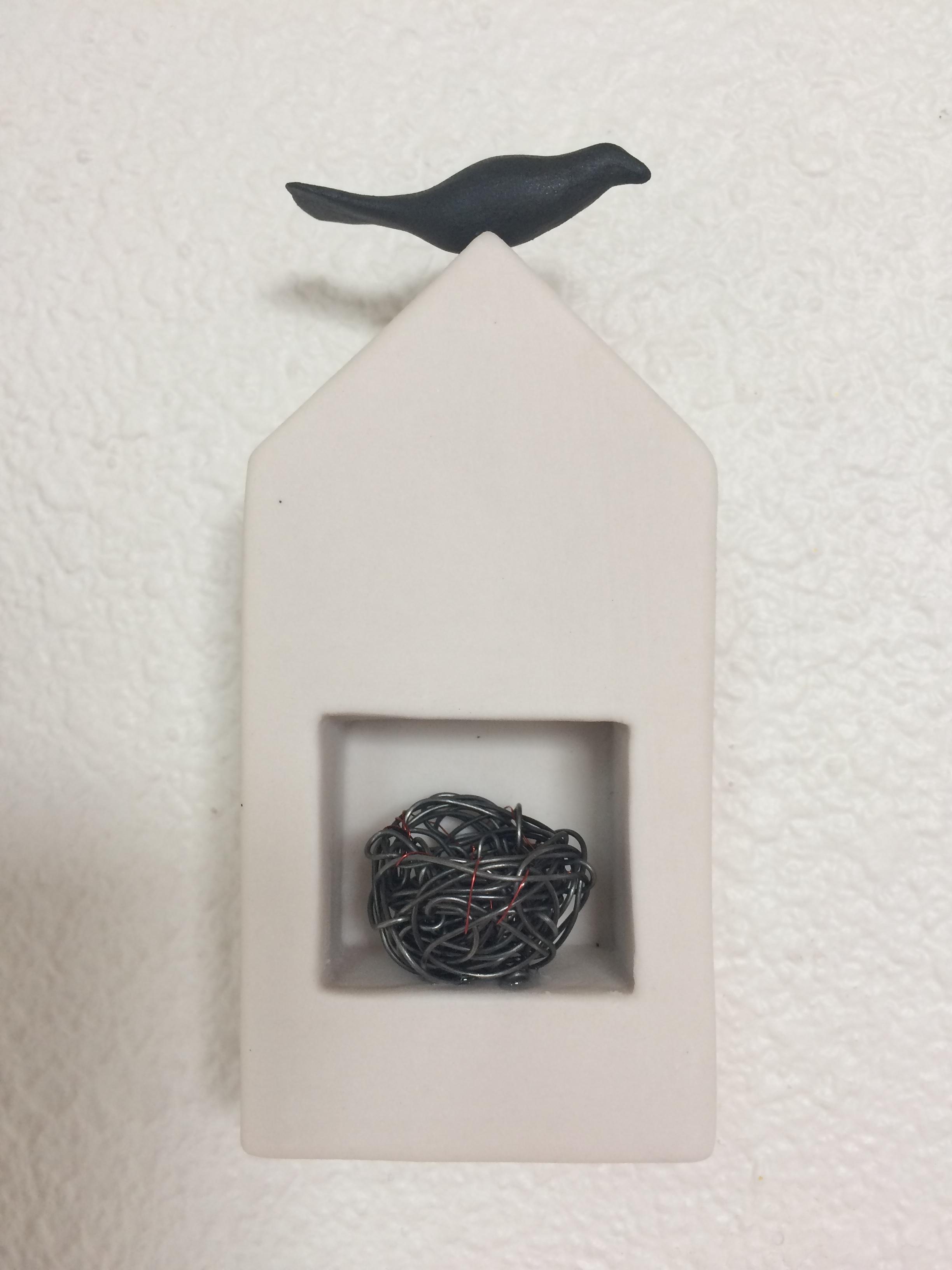 Bird with Nest