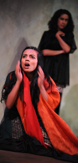 Youkti Patel as Aroosa in The House of Bilquis Bibi, 2010